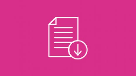 Icon Download pink